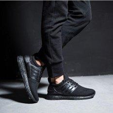 Harga Ocean Man Fashion Sneakers Olahraga Sepatu Sepatu Lari Kasual Sepatu Terbang Kain Bersih Permukaan Ventilasi Rendah Hitam Intl Merk Oem