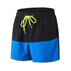 Harga Ocean Men Casual Sports Shorts Menjalankan Bola Basket Kebugaran Pelatihan Bernapas Longgar Stretch Cepat Kering Celana Pendek Biru Intl Oem Online