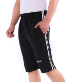 Spesifikasi Ocean New Fashion Outdoors Sports Shorts Loose Pure Cotton Casual Shorts Black Intl Terbaru