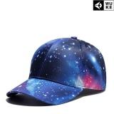 Spesifikasi Ocean Topi Bisbol Hip Hop Langit Berbintang Cetak Digital 3D Unisex Topi Wanita Mode Baru Biru Intl Terbaru