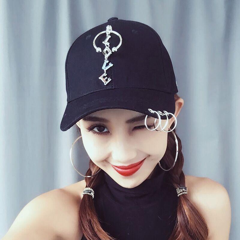 Harga preferensial Wanita Model Wanita Topi Han Edisi Unisex Topi Pantai  Ventilasi Topi Bisbol untuk Dipakai 35c2bbba0b