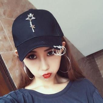 Beli sekarang Wanita Model Wanita Topi Hip Hop Edisi Han Ventilasi Bisbol  untuk Dipakai Di Pantai c584212530