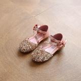 Ocean Baru Anak Perempuan Sandal Crystal Sepatu Anak S High Heels Han Edisi Payet Putri Sepatu Merah Muda Intl Diskon Tiongkok