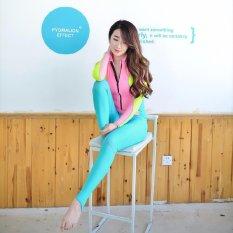Toko Ocean New Lady Conjoined Diving Suit Lengan Panjang Mencegah Berjemur Dalam Pakaian Renang Pink Intl Lengkap Tiongkok