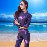 Spesifikasi Ocean New Wanita Lengan Panjang Conjoined Diving Suit Surfing Pakaian 3Mm Untuk Tetap Hangat Starry Sky Intl Yg Baik