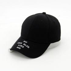 Harga Pria Wanita Model Topi Matahari Sederhana Sports Street Baseball Hat Hitam Jx240 Intl Oem