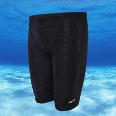 Pria Lima Poin Celana Renang Kompetisi Celana Renang (hitam)-Intl By Ocean Shopping Mall.