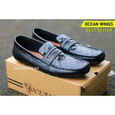 Toko Ocean Wings Sepatu Pria Casual Slip On Formal Kerja Pantofel Original Laki Sneakers Cowok Murah Online