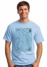 Oceanseven Fun Puzzle Tees 17 - Biru