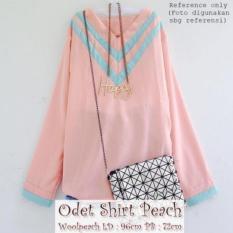 Spesifikasi Odet Shirt Warna Peach Dan Harga