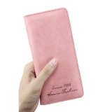 Kualitas Oem Dompet Wanita Pu Leather Wallet Slim For G*rl Women Pink Oem