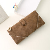 Promo Oem Long Leather Purse Brown Indonesia