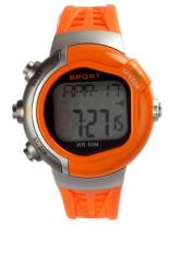 Tips Beli Oem Tahan Air Kebugaran Heart Rate Monitor Sport Watch Kalori Counter Orange Jam Tangan