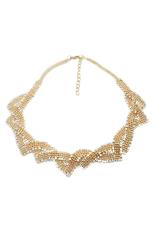 Ofashion AS Awesome Diamond Geometrical Shape Necklace - A36606 - GOLD