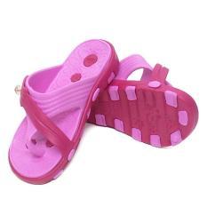 OFASHION Sandal Jepit Anak RE-185 Dulux Alas Kaki Flip Flops Anak Perempuan Pink