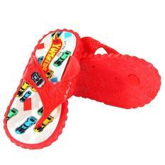 OFASHION Sandal Jepit RE-YM-223 Yumeida Alas Kaki Flip Flops Anak Laki Merah