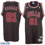 Harga Logo Pria Nba Dennis Rodman 91 Chicago Bulls Black Throwback Basket Jersey Intl Yang Bagus