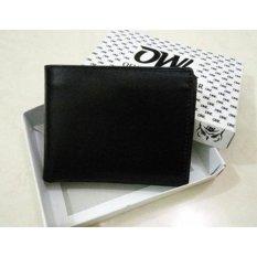 Spesifikasi Ofi Wallet Leather Dompet Kulit Pria Polos Hitam Beserta Harganya