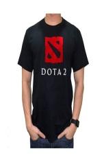 Ogah Drop Dota 2 T Shirt Pria Hitam Terbaru
