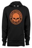 Cuci Gudang Ogah Drop Hoodie Harley Davidson Skull Hitam