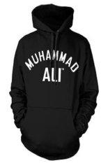 Ogah Drop Sweater Hoodie Muhammad Ali - Hitam