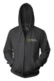 Jual Ogah Drop Zipper Hoodie National Geographic Hitam Ogah Drop Grosir