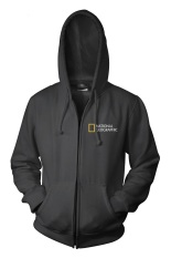 Ogah Drop Zipper Hoodie National Geographic Hitam Original