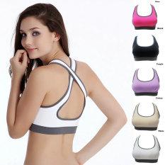 Katalog Oh Bagus Perempuan Empuk Bra Atas Rompi Olahraga Kebugaran Gym Olahraga Yoga L Tari Terbaru