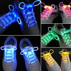 O memimpin olahraga sepatu tali Glow stik senter tali pengikat tali sepatu pesta disko Club - Internasional