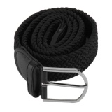 Beli Oh New Men S Casual Woven Braided Stretch Elastic Belt Pinggang Tali Pinggang Murah Tiongkok