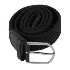Diskon Oh New Men S Casual Woven Braided Stretch Elastic Belt Pinggang Tali Pinggang Branded