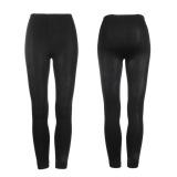 Spesifikasi Oh Hangat Tebal Musim Dingin Wanita Kurus Langsing Tanpa Kaki Celana Ketat Celana Legging Peregangan Hitam Oem