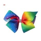 Diskon Okdeals 12 Cm Big Bowknot Hairpins Dengan Diamond Gadis Barrette Besar Colorful Bow Hair Clip Jojo Aksesoris Rambut 9 Intl Okdeals