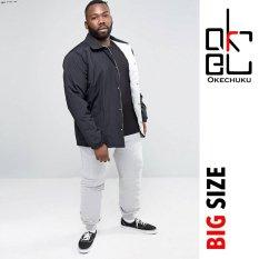 Harga Okechuku Evan Celana Joger Big Size Jumbo Jogger Pants Fit To 4Xl Abu Muda Yang Murah