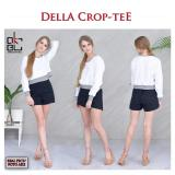 Spesifikasi Okechuku Della Crop Top Long Sleeve Sweater For High Waist Pants White Dan Harganya