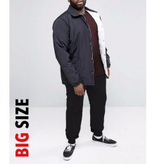 Spesifikasi Okechuku Evan Big Size Jogger Pants Celana Joger Ukuran Jumbo Fit To 4Xl Black Okechuku Terbaru