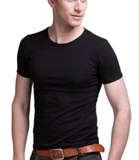 Spesifikasi Okechuku Kaos O Neck Basic Spandek C Plus Medium Size Black Bagus