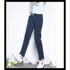 Jual Okechuku Michele Celana Slim Fit Skinny Jogger Pants Wanita Navy Okechuku
