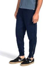 Diskon Okechuku Unisex Jogger Pants Combination Zipper Navy Branded