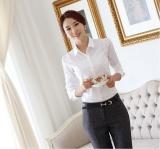 Spek Ol Shirt Fashion Formal Wanita Kemeja Intl Tiongkok