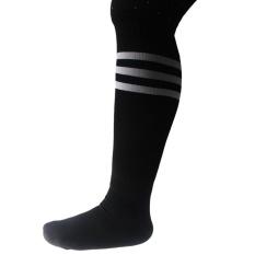 Lama Putih Di Atas Hitam Setinggi Lutut untuk Olahraga Atletik Tabung Sok/Bagus untuk Sepak Bola atau Olahraga Apapun, Juga Membuat Boot Yang Bagus-Intl