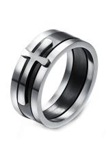 Harga Olen 3 In 1 Titanium Steel Dengan Cross Cincin Hitam