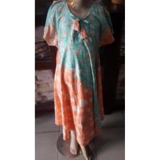 Oleno Batik- Dress Anak Batik, Dress Casual Anak, Ukuran XL Usia 5-6 Tahun