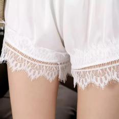 Oleno Collection Celana Pendek Sutra Betrina Hotpant Hitam Putih Oleno Diskon 50