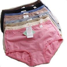 Oleno Yadaili Midi Panties Celana Dalam Wanita Yadaili - 6pcs-Multiwarna