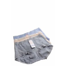 Beli Oleno Yadaili Midi Panty Celana Dalam Wanita Nyaman Tahan Lama 12 Pieces Kredit