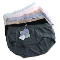 Harga Oleno Yadaili Midi Panty Multicolor 6 Pcs Yang Murah Dan Bagus