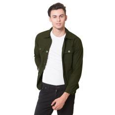 Beli Oliveinch Engimeering Jacket Merlin Green Army Terbaru