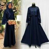 Olivia Dress Baju Pesta Cape Brukat Di Di Yogyakarta
