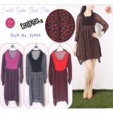 Jual Oma Fashion Belvyah Visolela Adsila Dress 4 Warna Size M Termurah